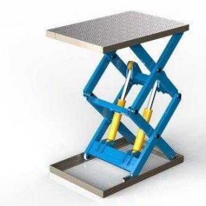 Mesa elevatória pantográfica extra baixa